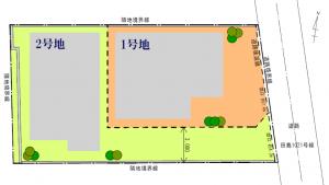 プロスペリテ別府Ⅱ 区画図