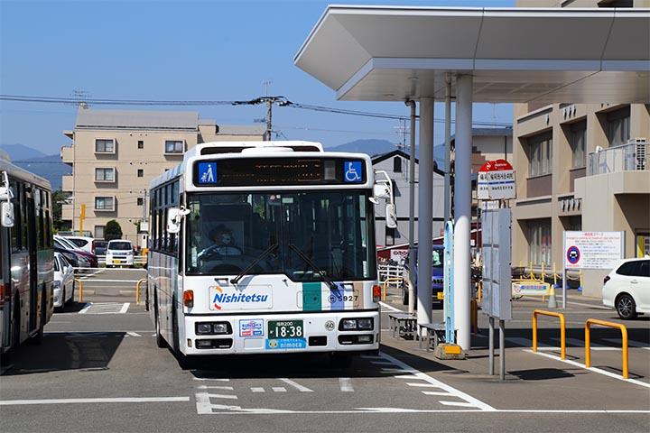 西鉄徳洲会病院バス停