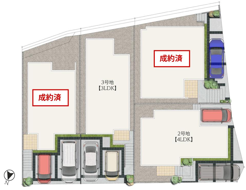 プロスペリテ七隈駅 区画図