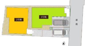 プロスペリテ石丸二丁目区画図